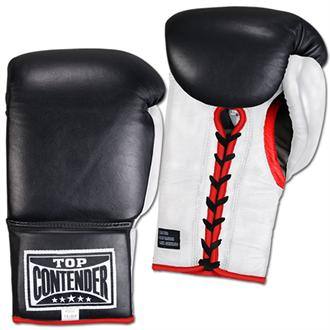 Leather Lace-Up Training Gloves